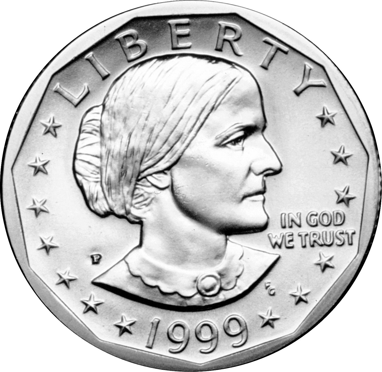 Susan B Anthony Dollar Coin Ring